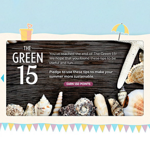 Recyclebank - Green 15 Campaign