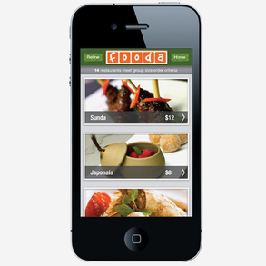 Fooda - Mobile App