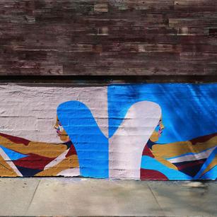 Violet Hour x Nyssa Mural