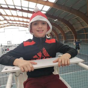 Le noël de l'école de tennis au TCM (: