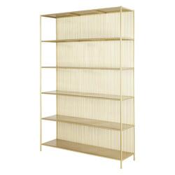 Brass Metal Bookcase £757.00