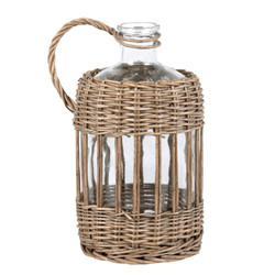 Glass and Willow Decorative Bottle £16.50