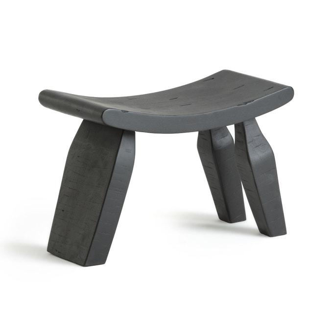 Oreus Three Legged Footstool in Solid Mango £115.00