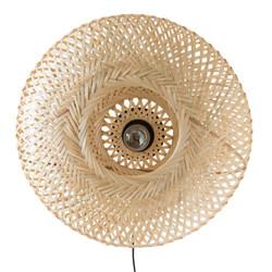 Woven Bamboo Wall Light £60.50