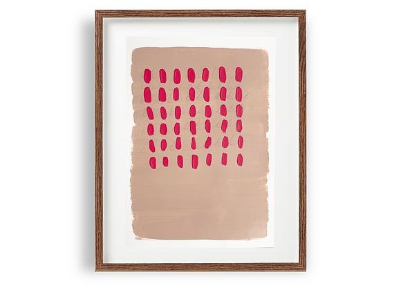 Abstract 07: Pink Dots