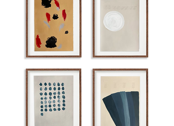 Abstract Gallery Wall: Stream