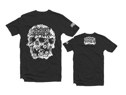 Damaged Sounds Skull T-Shirt