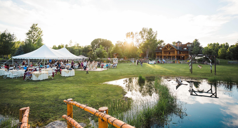 Wedding at LaBelle Lake Idaho