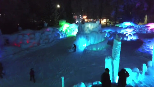 LaBelle Lake Ice Palace Video
