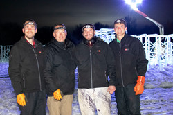 LaBelle Lake Ice Palace Building Team