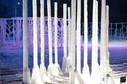 Building LaBelle Lake Ice Palace