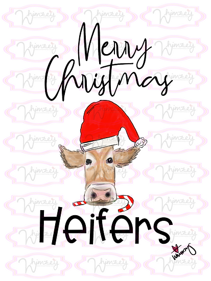 Digital Christmas Heifer File