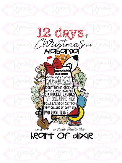 12 days of Christmas in Alabama Download