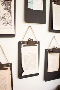 Small Black Clipboards
