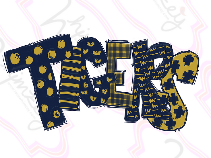 Digital Navy/Gold Tigers Download