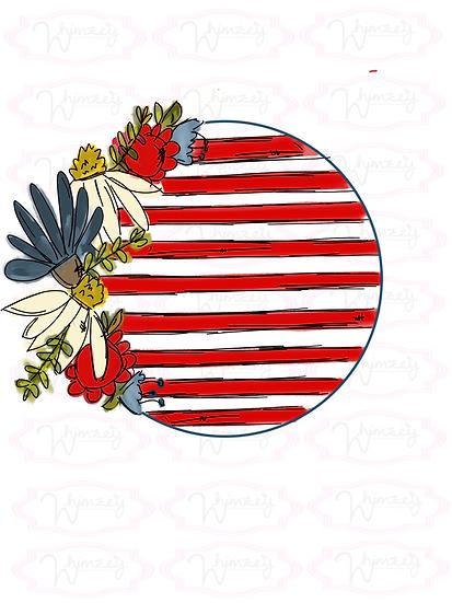American Stripes Frame