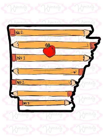 Digital Arkansas Pencil  File