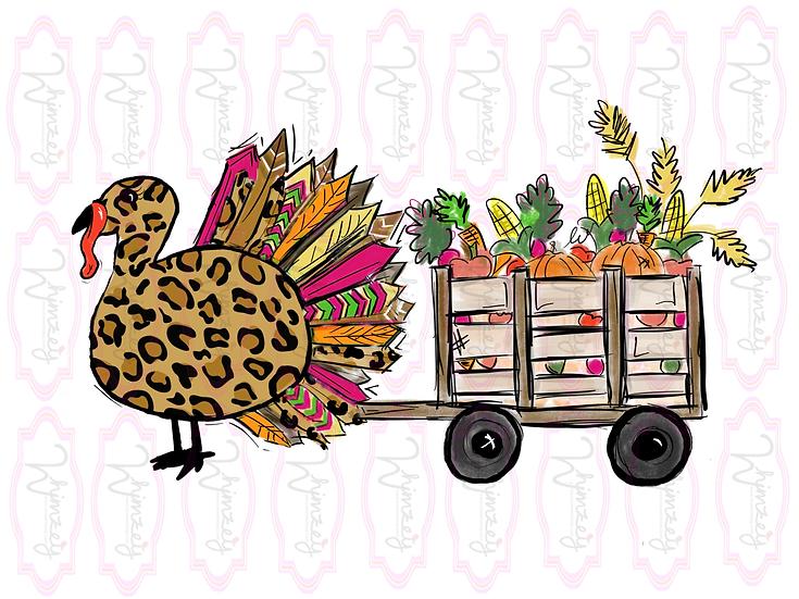 Digital Turkey and Veggies File