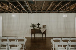 Shiplap Ceremony Space