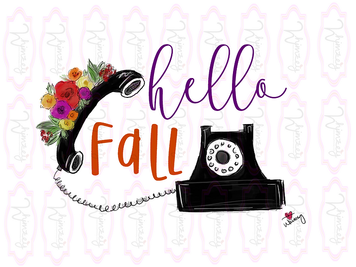 Digital Hello Fall File