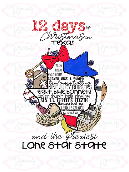 12 days of Christmas in Texas Download