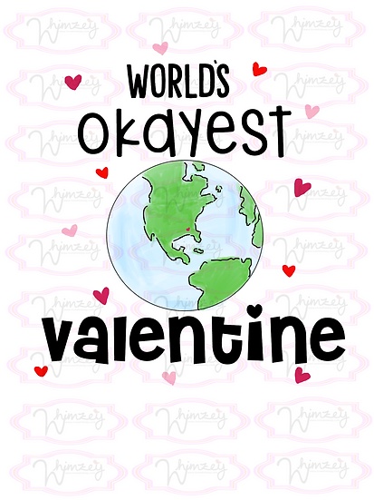 Digital World's Okayest Valentine-Globe Download