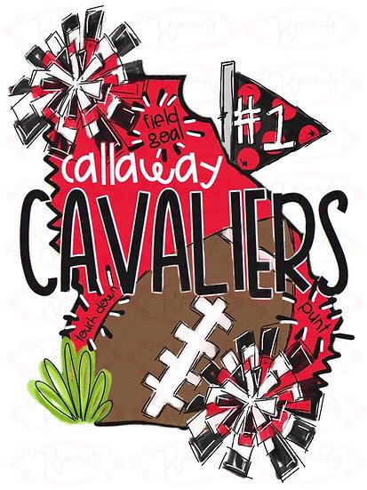 Callaway - State Football Tee