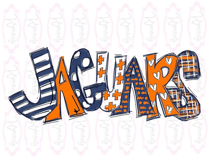 Jaguars - Navy/orange Download