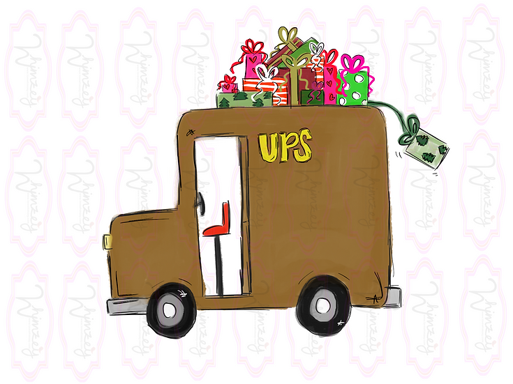 Digital UPS truck Download