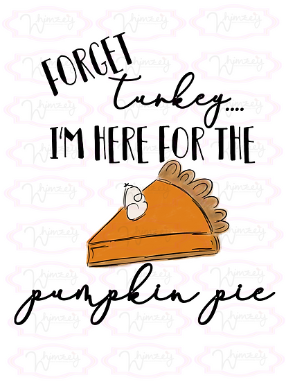 Digital Pumpkin Pie File