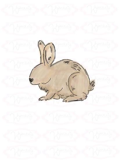 copy of Digital Bow Tie Rabbit Download