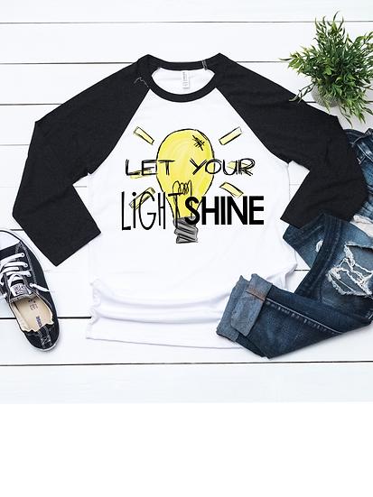 Digital Let Your Light Shine File