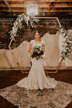 ceremony with bride