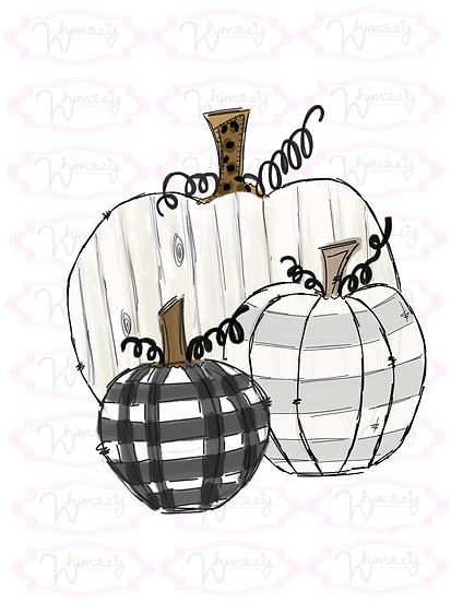 Farm House Pumpkins
