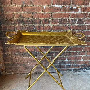 Gold Table Tray