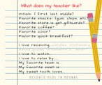 Get to know your child's teacher.