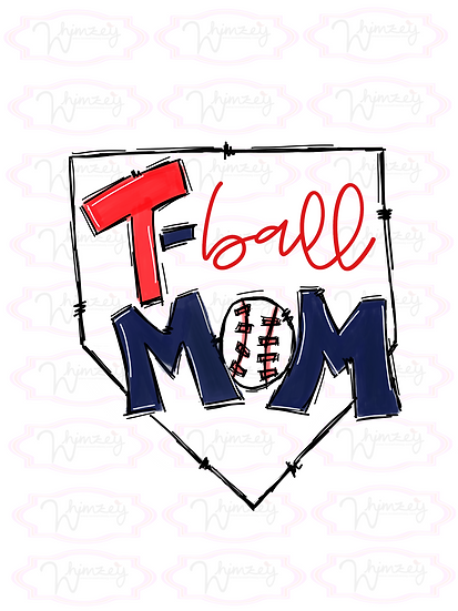 Digital T-Ball Mom Download
