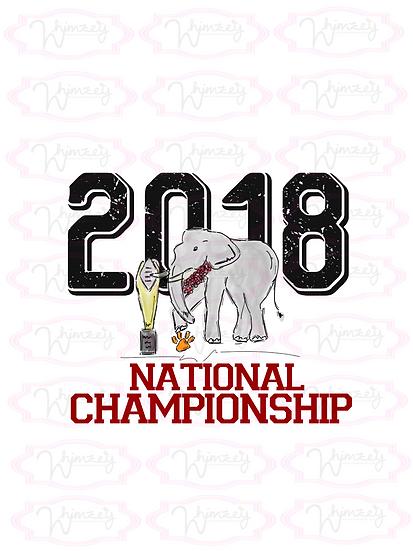 Digital Alabama National Championship Game Download