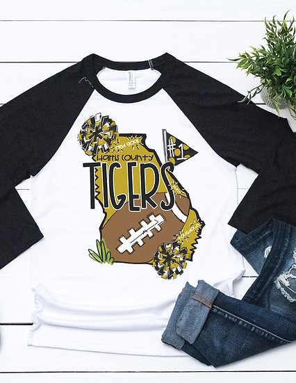 Harris County High- State Football Tee