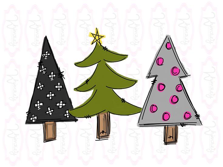 Three Fun Trees