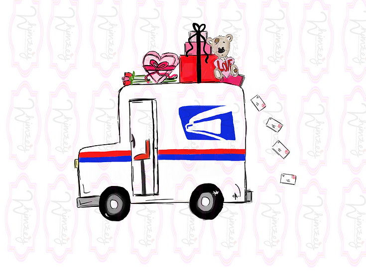 Digital Love Mail Truck Download