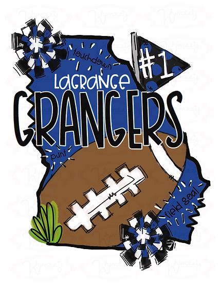 LaGrange High- State Football Tee