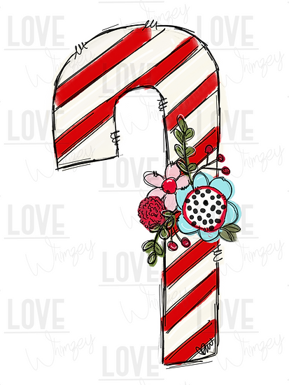 Candy Cane Whimsy