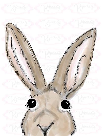 Sweet Rabbit Head