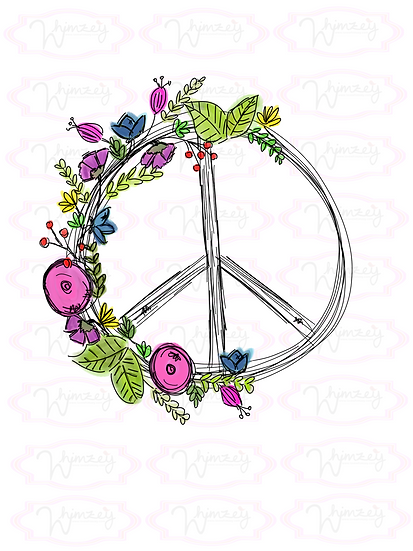 Digital Branch Peace Sign Download