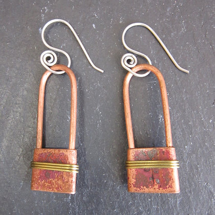 Currents Recycled Metal Earrings