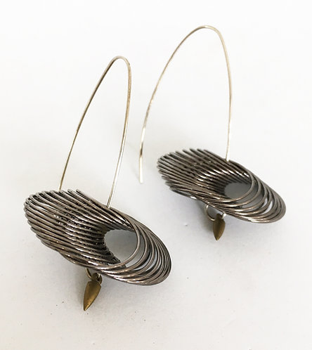 Kindred Spirits Coiled Wire Earrings