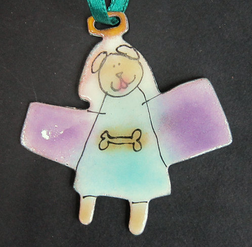 Mary Klein Copper Enamel Ornaments