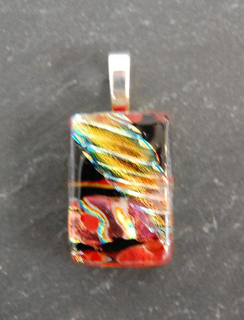 Karg Art Glass Dichroic Pendant