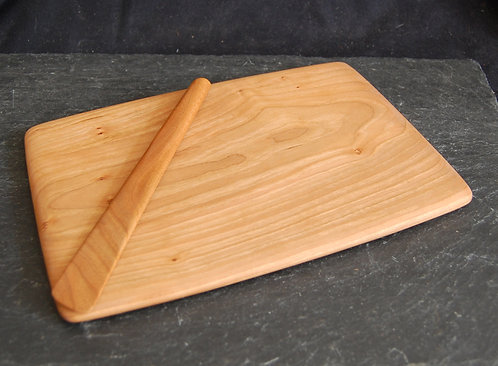 Wohl Cherry Sandwich Board & Spreader